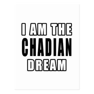 I am the Chadian Dream Postcard