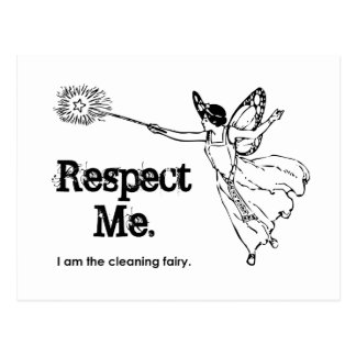 I am the Cleaning Fairy Postcard