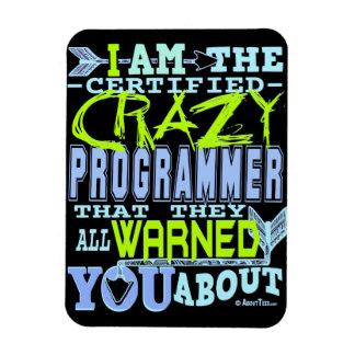 I am the Crazy Programmer Magnet