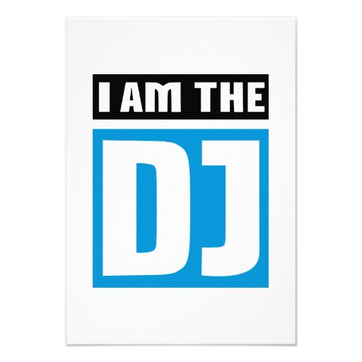 I am the DJ Personalized Announcements