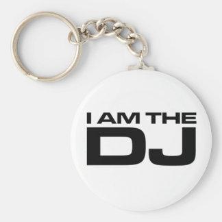 I Am The Dj Key Ring