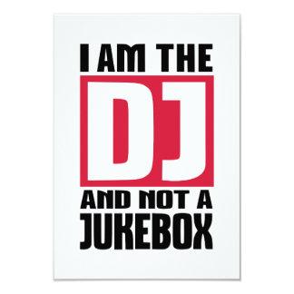 I am the DJ not a Jukebox Custom Announcement