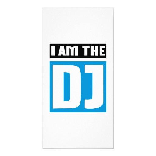 I am the DJ Customized Photo Card
