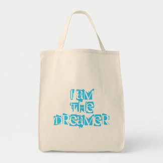 I Am The Dreamer Organic Grocery Tote Grocery Tote Bag