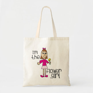 I am the Flower Girl Budget Tote Bag