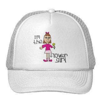I am the Flower Girl Cap