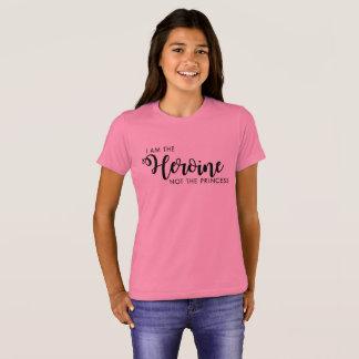 I am the Heroine not the Princess Kid's Shirt