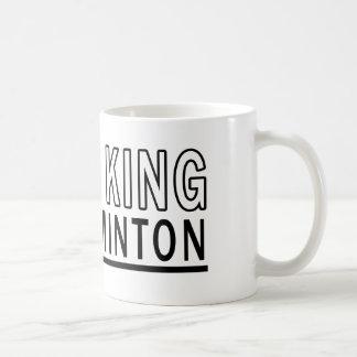 I Am The King Of Badminton Coffee Mug