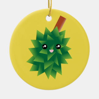 I Am The King of Fruits Durian Kawaii Manga Christmas Ornament