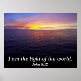 I am the light - art print