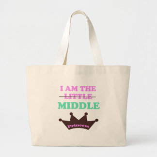 I am the little/middle Princess Tote Bags