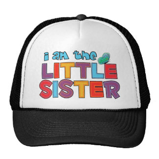 I am the Little Sister Butterfly Cap