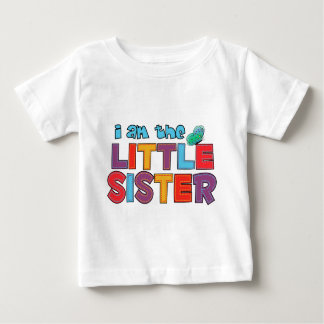 I am the Little Sister Butterfly Tshirts