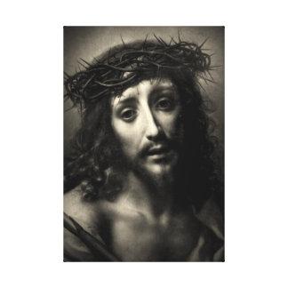 I am the living bread - John 6:51 Canvas Prints