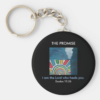 I AM THE LORD - 1118 BASIC ROUND BUTTON KEY RING