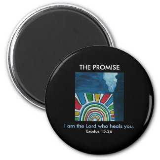 I AM THE LORD 6 CM ROUND MAGNET
