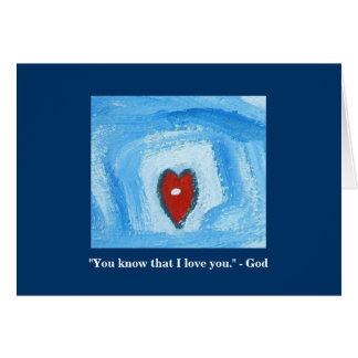 I AM THE LORD WHO HEALS YOU GREETING CARD