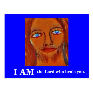 I AM (THE LORD WHO HEALS YOU) POSTCARD