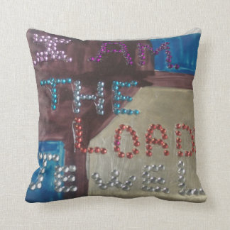 I Am The LORD's Jewel Pillow Throw Cushion