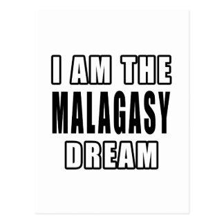 I am the Malagasy Dream Postcard