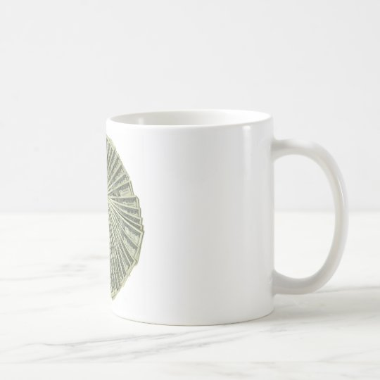 I am the money. coffee mug