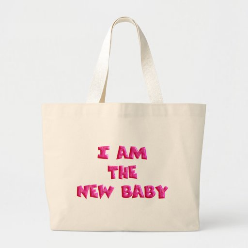 I am the New Baby Canvas Bags