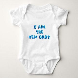 I am the New Baby boy Baby Bodysuit