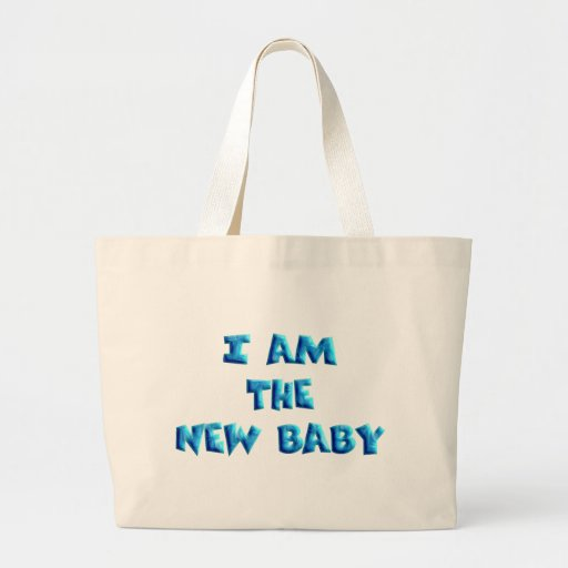 I am the New Baby boy Tote Bag