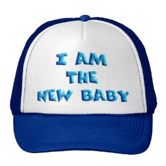 I am the New Baby boy Cap