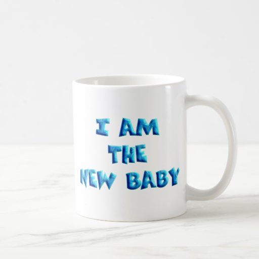 I am the New Baby boy Coffee Mugs