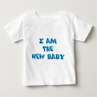 I am the New Baby boy T Shirt