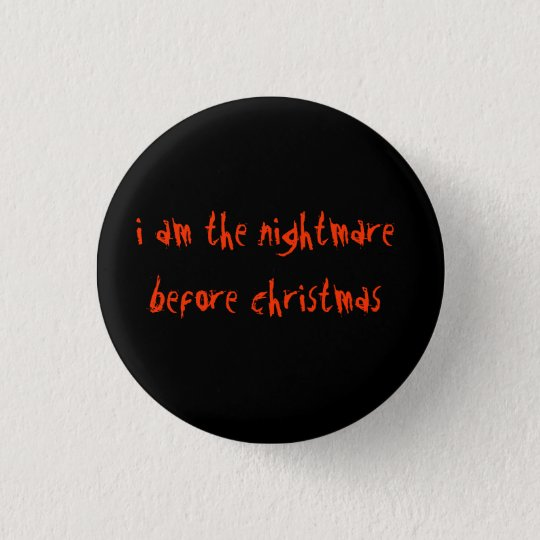 I am the nightmare before christmas 3 cm