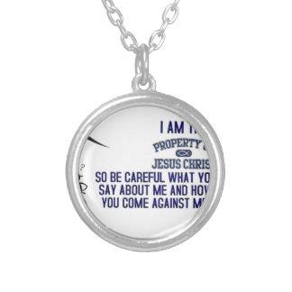 I Am The Property of Jesus Christ Necklace