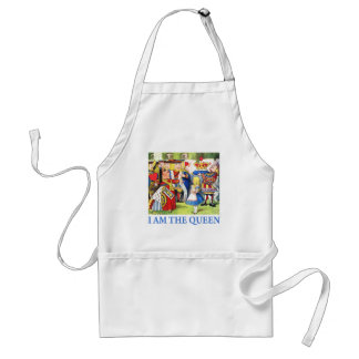 I AM THE QUEEN OF WONDERLAND STANDARD APRON