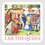 I Am The Queen Stickers