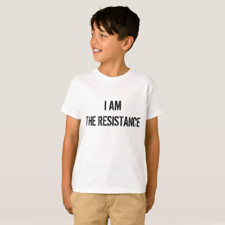 I AM THE RESISTANCE, **KIDS** TEE SHIRT