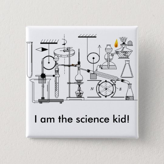 I am the science kid! 15 cm square