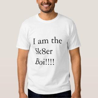I am the Sk8er Boi!!!! T-shirts