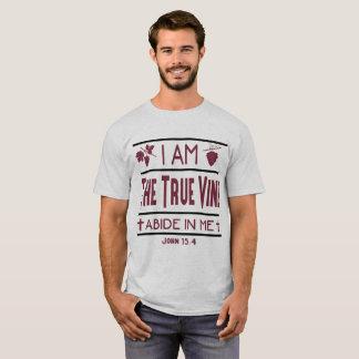 I Am The True Vine Christian Men's Shirt