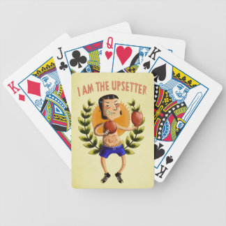 I am The Upsetter Bicycle Playing Cards