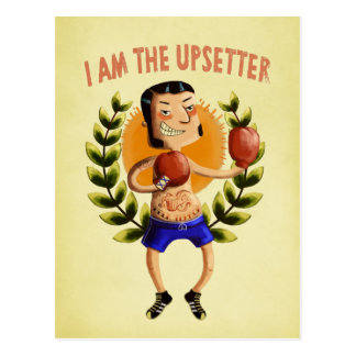 I am The Upsetter Postcard