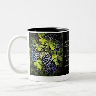 I Am The Vine Two-Tone Mug