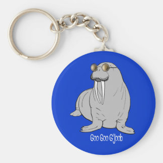 I am the Walrus Key Ring