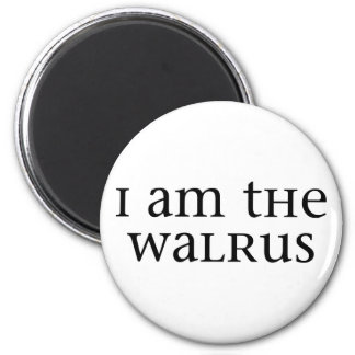 I am the Walrus Magnet