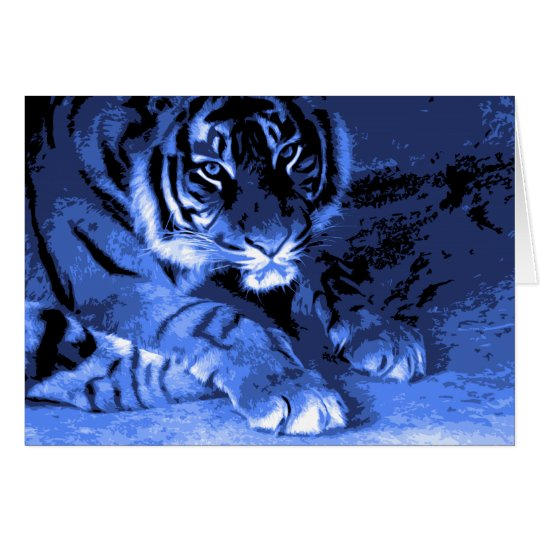 I am Tiger Card