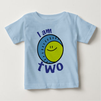 I am two baby tee