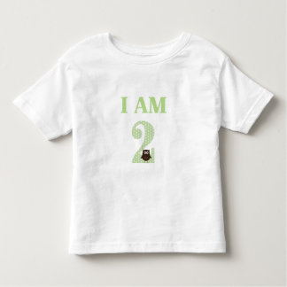 I AM TWO Birthday Owl T-Shirt