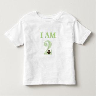 I AM TWO Birthday Owl T-Shirt