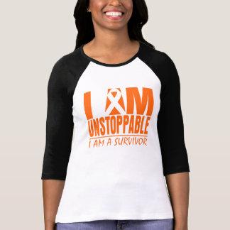 I am Unstoppable - I am a Survivor - Skin Cancer T Shirt