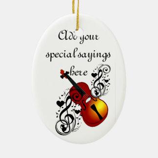 I Am Violin#2_ Christmas Ornament
